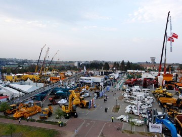 bauma CONEXPO Africa outside area